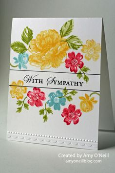 Floral One-Layer Sympathy