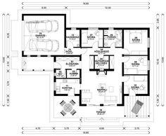 """Képtalálat a következőre: """"egyszintes családi ház tervek"""""""