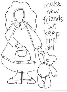 Make new friends but keep the new