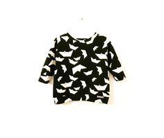"""Kleider - Langarmshirt """"Schiffchen"""" - ein Designerstück von tueterbueddel bei DaWanda"""