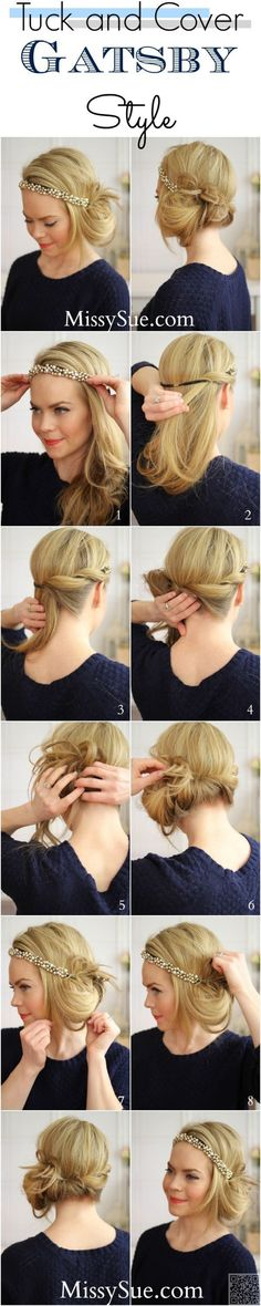 15. #Gatsby Style - Tame Your #Tresses with These #Gorgeous Hairstyles for…