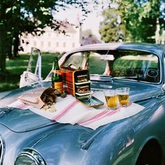 Vintage Car & Picknick = :)
