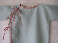 Pomme Coing - tuto kimono hyper simple, idéal pour un pyj' par ex