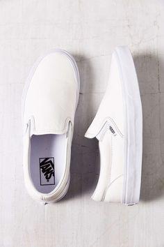 Vans Classic Premium Leather Slip-On Women s Sneaker 65.00 Tennis Vans 37c7b07b060