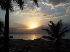 Sunset at the Royal Decameron, M'o Bay