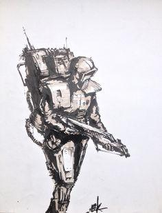 #sketch #inking #illustration