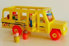 Fisher Price School Bus '70s