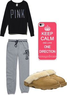 A fashion look from December 2012 featuring long sleeve crew neck tee, victoria secret activewear and iphone sleeve case. Browse and shop related looks. Lounge Clothes, Lounge Outfit, Comfy Outfit, Cute Lazy Day Outfits, Pretty Outfits, Casual Outfits, Sick Day Outfit, Outfit Of The Day, Vs Underwear