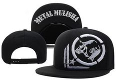 2016 New Style Cap Snapback Metal Mulisha Skull Adjustable Baseball Hat Rockstar