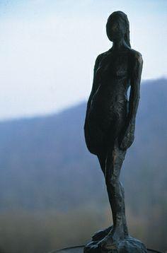 Frau/Bronze ©Tobias Windlinger