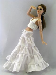 Free Printable Barbie Doll Clothes   Tonner doll   N. I. by T. F. (formerly Mildendo Magazine)