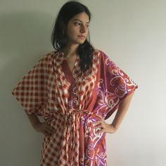 Buttoned Kaftan made from  JJ3 Fabric Pattern