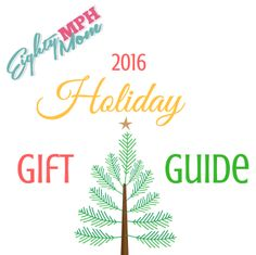 Eighty MPH Mom 2016 Holiday Gift Guide  Welcome to the Eighty MPH Mom 2016 Holiday Gift Guide! On the next few pages you will find gifts for everyone on your holiday list (and maybe even a few things to add to your own wish list!). Our gift guide categories this year are: Babies & Toddlers Big Kids For Her For Him Fun [...]  http://eightymphmom.com/2016/11/eighty-mph-mom-2016-holiday-gift-guide.html