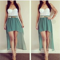 In love with the high-low skirt