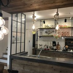 Kitchen/オープンハウス/タイルのキッチン/完成見学会/ブルックリンスタイルの家/アイアンの壁...などのインテリア実例 - 2018-01-15 12:43:08