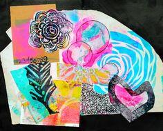 Mixed Media Art Journaling by Mary C. Nasser with StencilGirl stencils