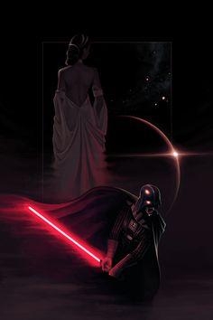 Star Wars / Darth Vader & Padme Amidala
