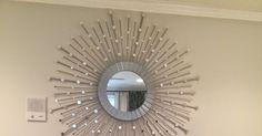 Hi All!  First blog, so bear with me. I recently created a sunburst mirror.  Here's the finished project. Materials Needed: 1. Plai...