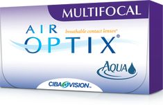 Air Optix Aqua Multifocal contacts... best contacts for those of us with ummm... 'older' eyes