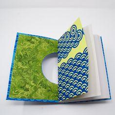 Sketchbook / Blank Hand Bound Book / Notebook / Journal / | Etsy Blank Journal, Journal Notebook, Notebooks, Journals, Handmade Books, Handmade Gifts, Japanese Waves, Bound Book, Reading
