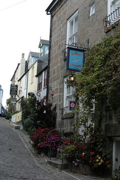 "St. Ives, Cornwall Looks like something from ""Doc Martin"""