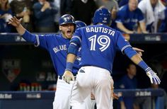 Josh Donaldson and Jose Bautista Baseball Live, Baseball Cards, Indiana Basketball, Buy Basketball, Rules For Kids, Josh Donaldson, Toronto Blue Jays, Going Crazy, In This Moment