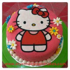 Hello Kitty Rainbow Cake....!!! Hello Kitty Rainbow Cake....!!! Hello Kitty Rainbow Cake....!!! Hello Kitty Rainbow Cake....!!!
