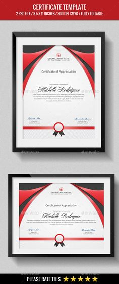 Certificate Certificate, Business company and Certificate design - corporate certificate template
