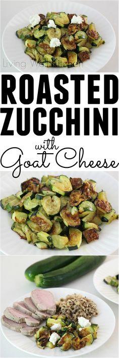 Roasted Zucchini Hea