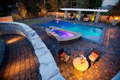 How to Maintain and Clean Your Hardscape Hardscape Design, Backyard Paradise, Small Pools, Backyard Makeover, Unique Gardens, Outdoor Living Areas, Landscape Lighting, Pool Designs, Backyard Landscaping