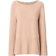 Elizabeth And James Clarette Bell Sleeve Sweater (1.361.545 IDR) ❤ liked on Polyvore featuring tops, sweaters, nude, bell sleeve sweater, elizabeth and james sweater, elizabeth and james top, bell sleeve tops and flared sleeve sweater
