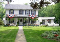 The English Pines Bed & Breakfast, our favorite place to stay at Putin Bay, Ohio
