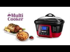 Delan-A02-MF_multi cooker - YouTube Rice Cooker, Slow Cooker, Multicooker, Heating Element, Grilling, Roast, Cooking, Food, Youtube