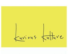 Kurious Kulture Logo design by domobird - clothing company.  Inspired by handwriting font and white space, allowing artwork to breathe within its canvas #BrandCrowd #tailor #logos #design #clothing #fashion #BrandCrowd