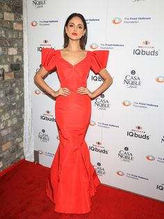 Eiza Gonzalez is seen attending the Inaugural Los Angeles Gala Dinner in support of The Fred Hollows Foundation.