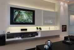 home theater moderno - Pesquisa Google