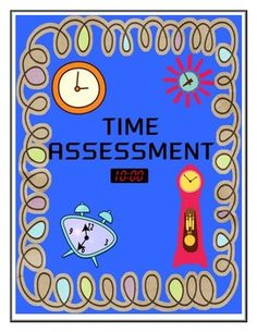 Time Assessment - CCSS