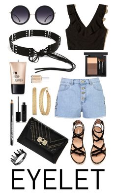 """""""Senza titolo #6471"""" by waikiki24 ❤ liked on Polyvore featuring Boohoo, Hollister Co., Diane Von Furstenberg, Alice + Olivia, GUESS, NYX, MAC Cosmetics, Charlotte Russe and Marc Jacobs"""