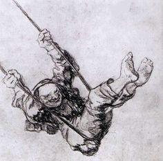 drawing Francisco Goya