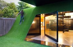 How the design of the outdoor space will begin to influence the form of the home