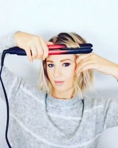 Short Hairstyles That'll Make You Look Gorgeous! - Short Hairstyles That'll Make You Look Gorgeous! Short Hairstyles That'll Make You Look Gorgeous! Short Hair Waves, Short Thin Hair, Short Hair Styles Easy, Short Hair Updo, Short Bob Hairstyles, Short Hair Cuts, Medium Hair Styles, Easy Hairstyles, Short Hairstyle Tutorial
