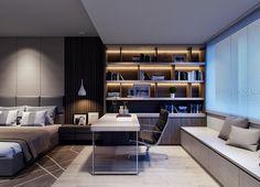 BED ROOM DESIGN on Behance