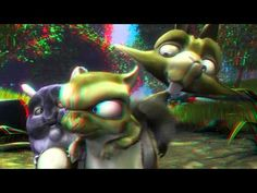 Big Buck Bunny cartoon: anaglyph or red cyan video animation; movie in full HD and 60 fps. This video animation requires red cyan glasses. Pikachu Art, 3d Video, Animated Cartoons, Animation, Movie Posters, Fictional Characters, Image, Youtube, Search