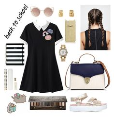 """""""15 sept"""" by serban-lorena on Polyvore featuring KG Kurt Geiger, Aspinal of London, Kate Spade, MANGO, Rolex, Urban Decay and Pusheen"""