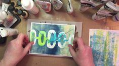 MailArt Gel Printing - YouTube