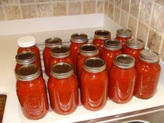 Canning Homemade Spaghetti Sauce | Are We There Yet?