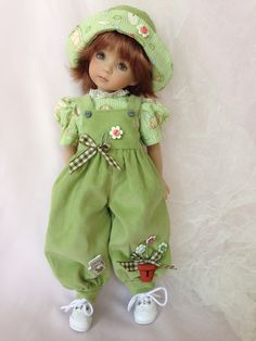 """Outfit made to fit 13"""" Effner Little Darling dolls"""
