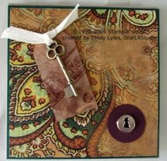 CD Case   by Cindy Lyles  Transform a single sheet of cardstock into a custom CD case.