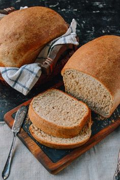 This whole wheat bread recipe makes perfect sandwiches and toast, and it has a rich, complex flavor. Give it a try, and you'll see how easy it is to make!