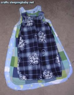 diy sleep sack with